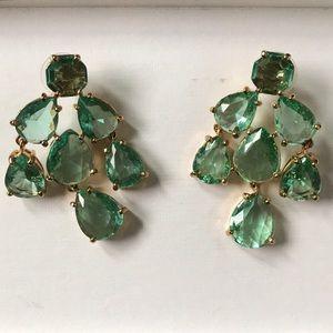 Kate Spade Jewel Drop Earrings - teal
